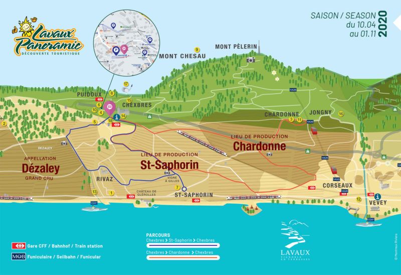 parcours lavaux panoramic