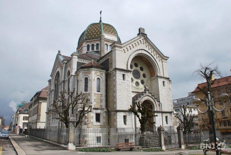 La synagogue de la Chaux-de-Fonds. Photo: rtn.ch
