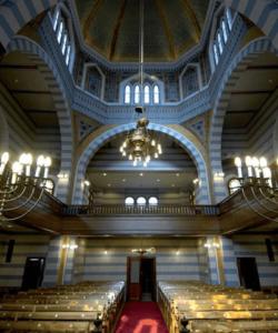 Synagogue de Genève intérieur