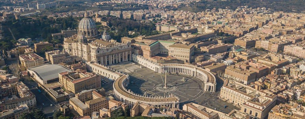 L'immense basilique Saint-Pierre du Vatican construite entre 1506 et 1626.