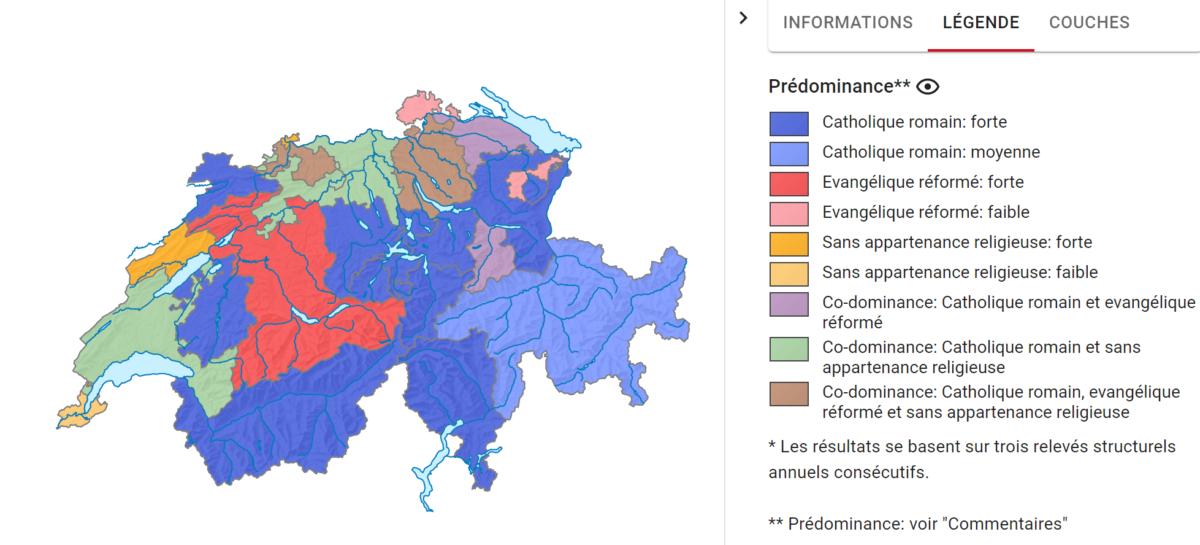 Religionmajoritaire par canton
