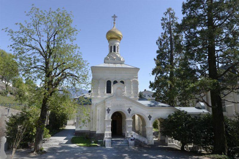 L'église orthodoxe russe de Vevey.