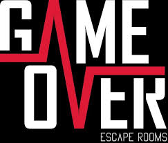 game over escape logo