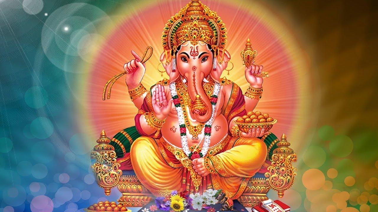 Le dieu le plus vénéré et certainement le plus connus de l'hindouisme, Ganesh, avec sa tête d'éléphant. P