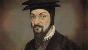 Une peinture de Pierre Viret.