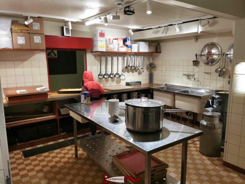 Cuisine du fort de Chillon