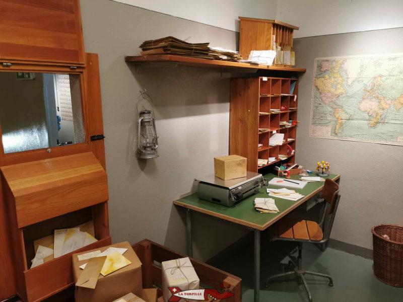 Bureau de Poste du fort de Chillon