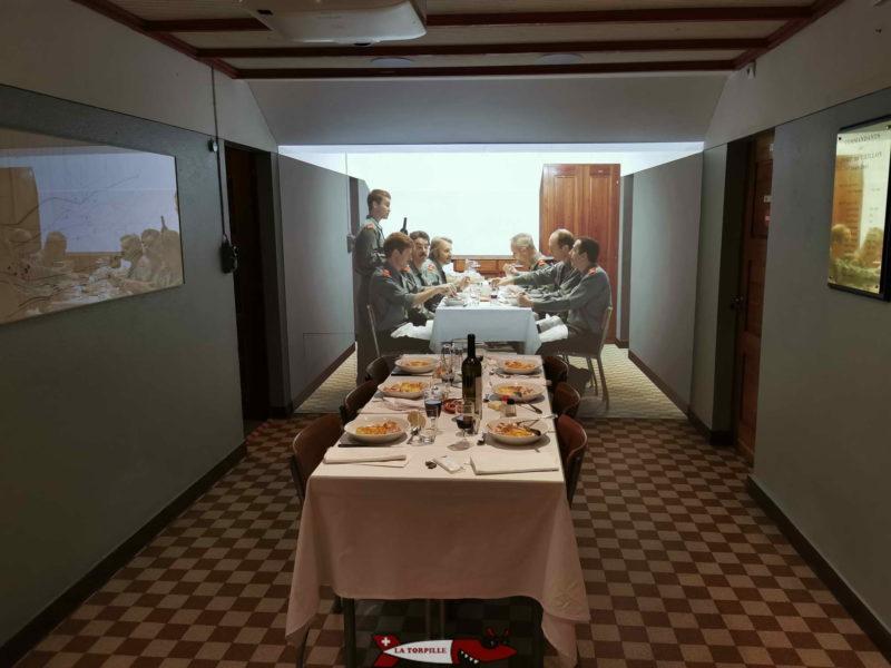 Mess des officiers du fort de Chillon