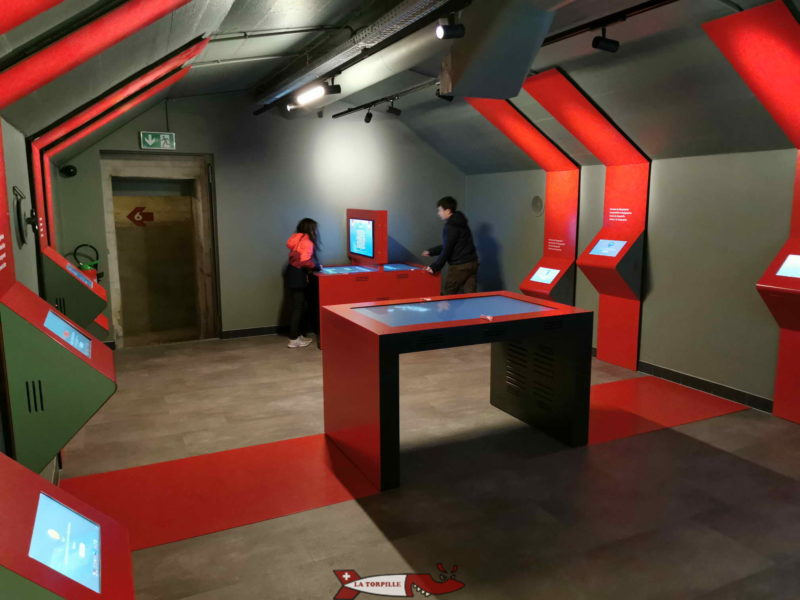 salle interactive fort de chillon
