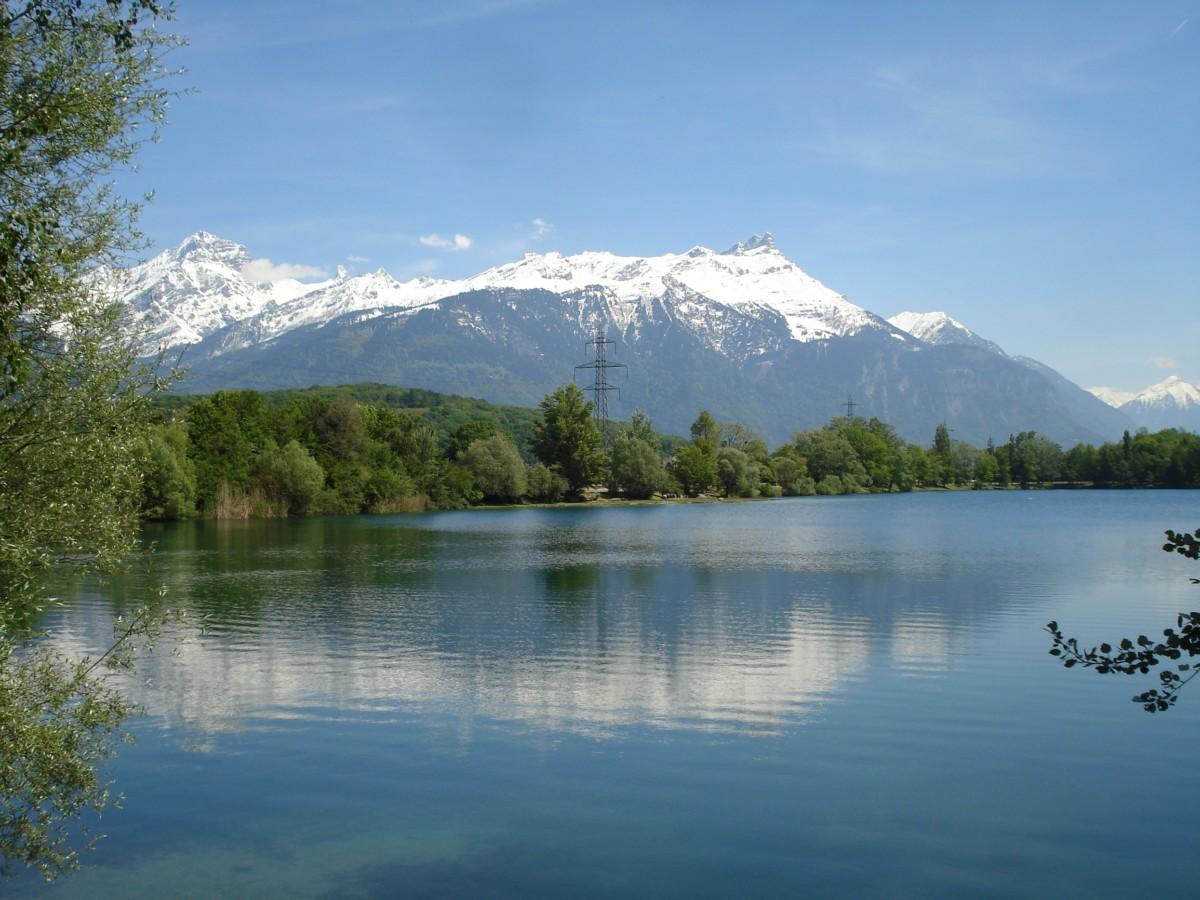 L'étang Duzillet.Ollon