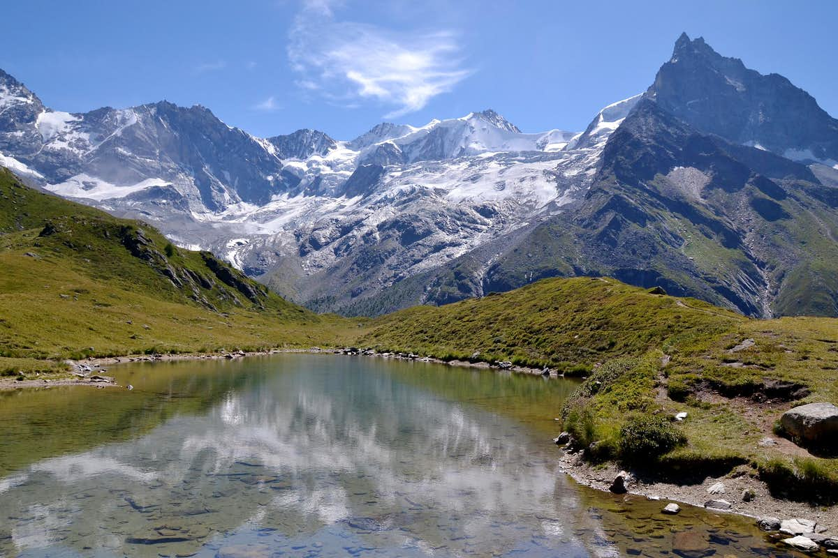 Lac d'Arpitettaz.
