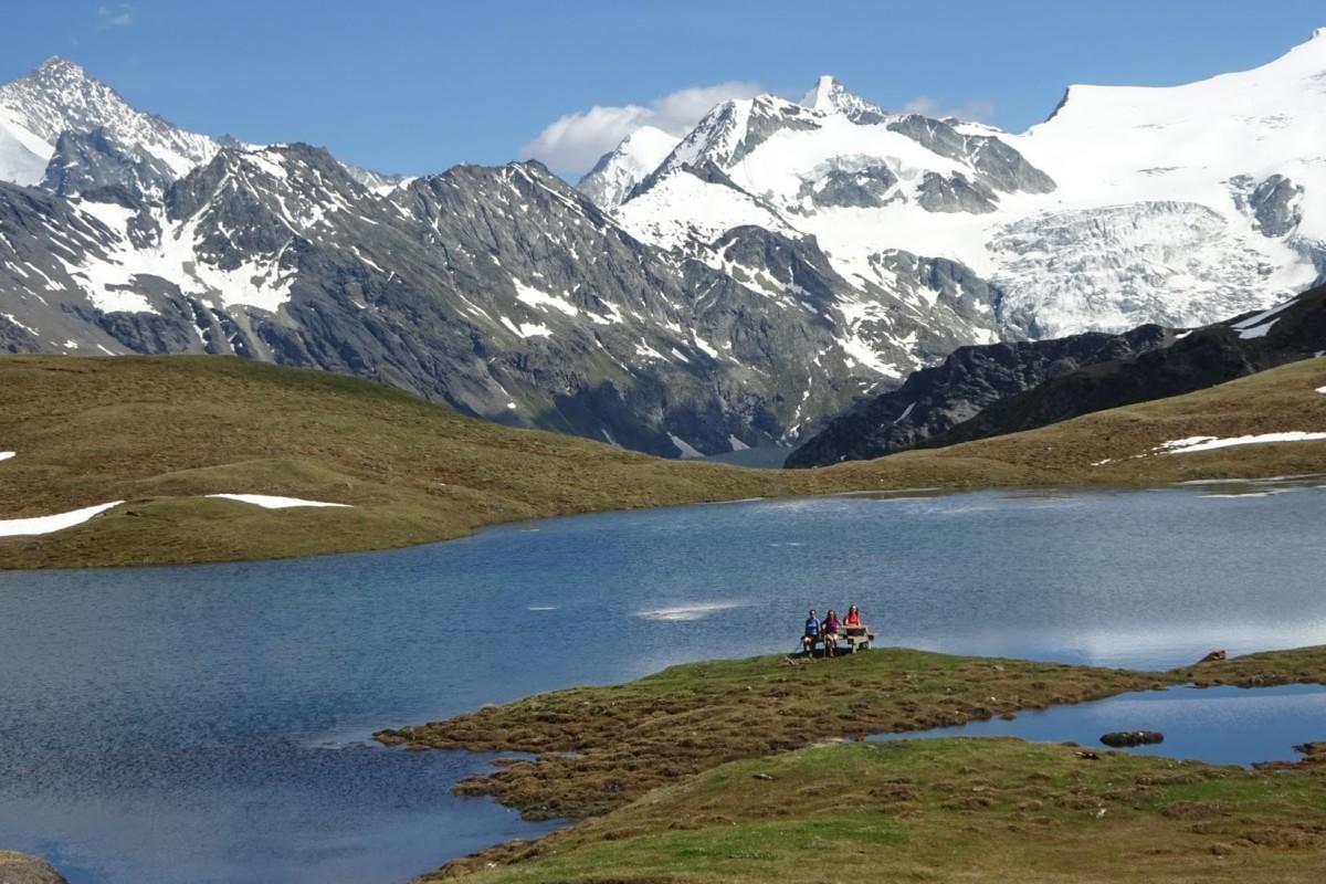 Le lac des Autannes.