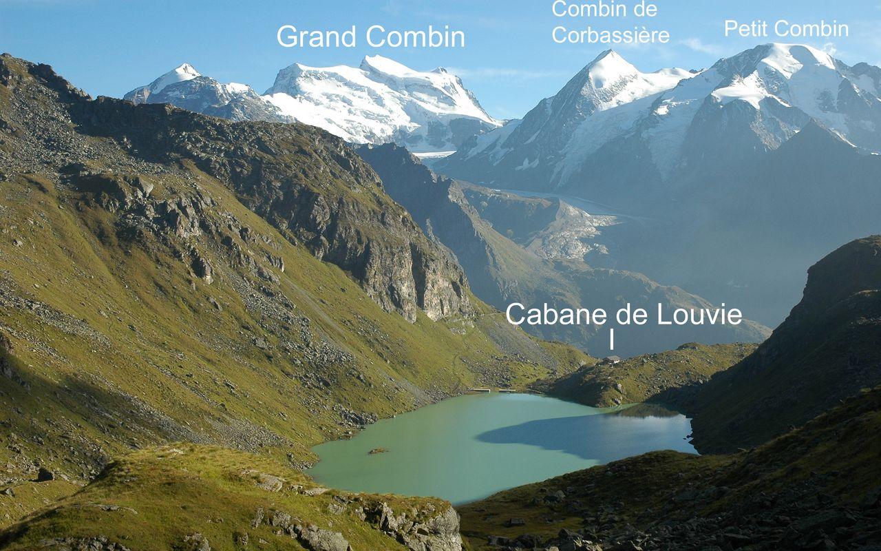 Lac de Louvie verbier