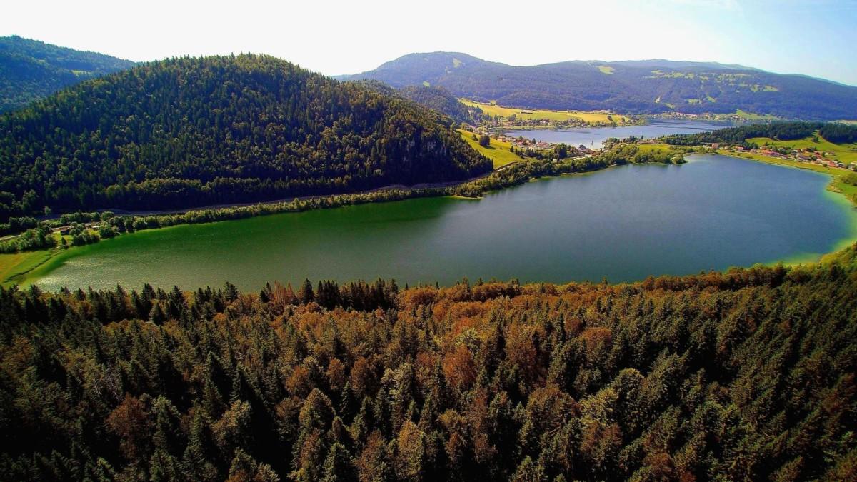 Lac de Joux et Lac de Brenet