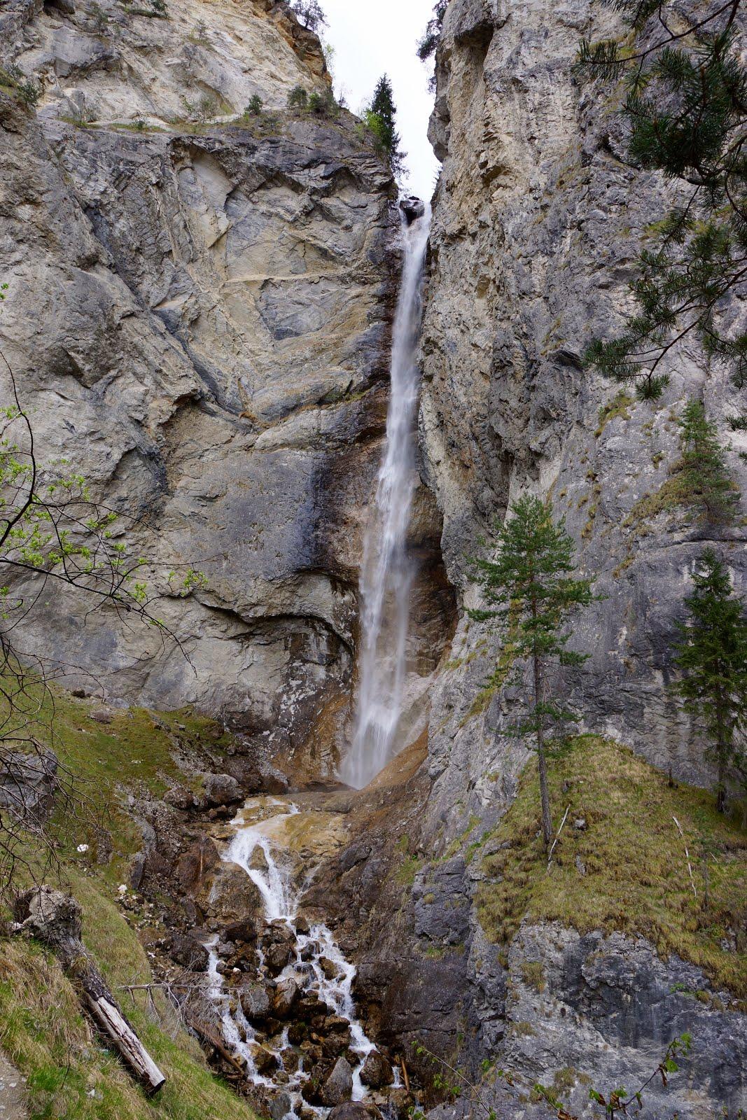 cascade de la rèche