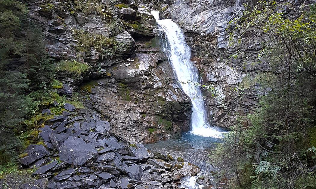 Cascade de la Sauffla Champéry