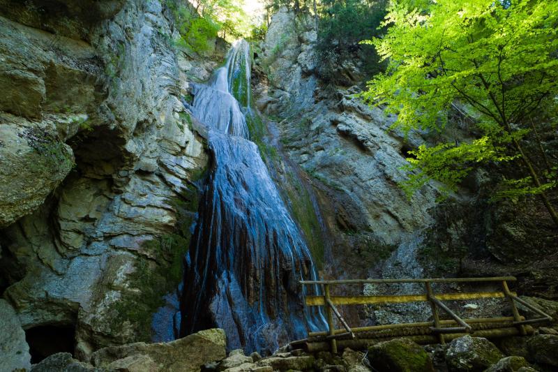 cascade de motiers