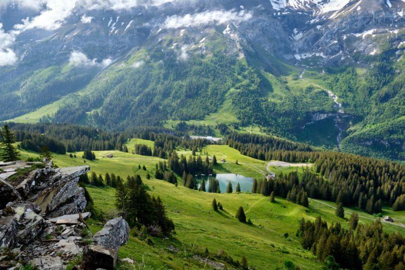 Le lac Retaud.