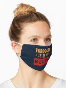 Un masque en tissu très utile par basse température. C'est le même type que ceux utilisés pour lutter contre le coronavirus SARS-Cov-2.