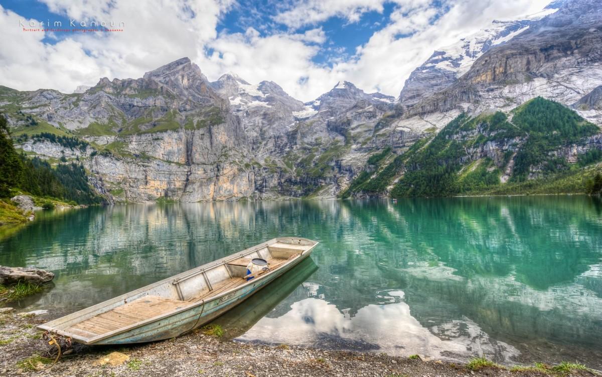 Lac d'Oeschinen (Kandersteg, BE)