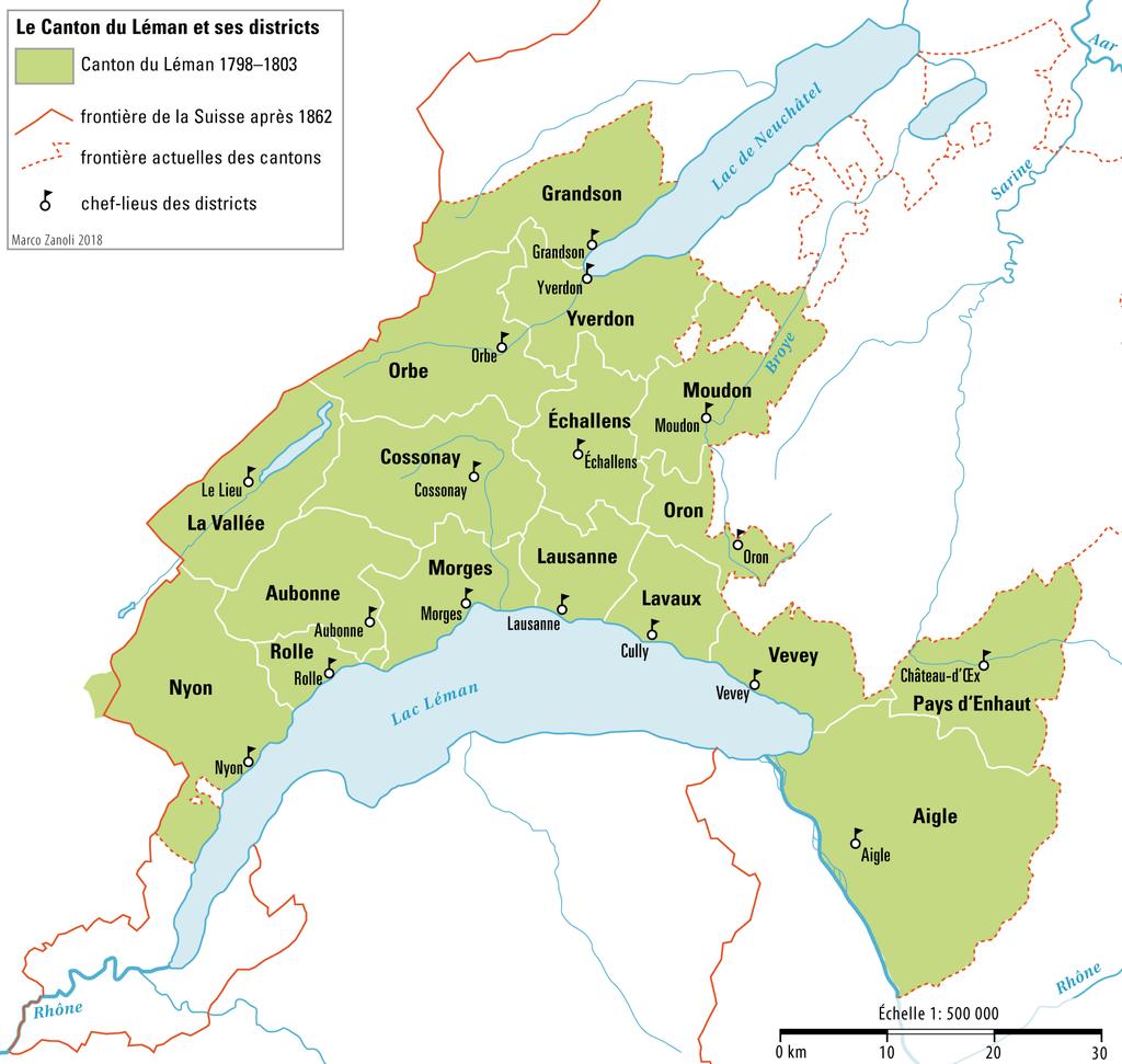 Le canton du Léman.