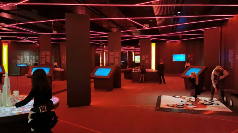 La salle consacrée à Smartcity. sciencity