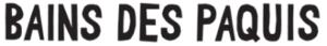 Bains des Pâquis Genève logo