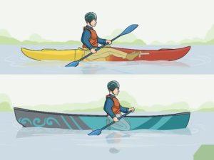 différence canoe et kayak