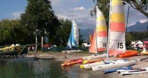 Le centre Lac et Mer au Bouveret.