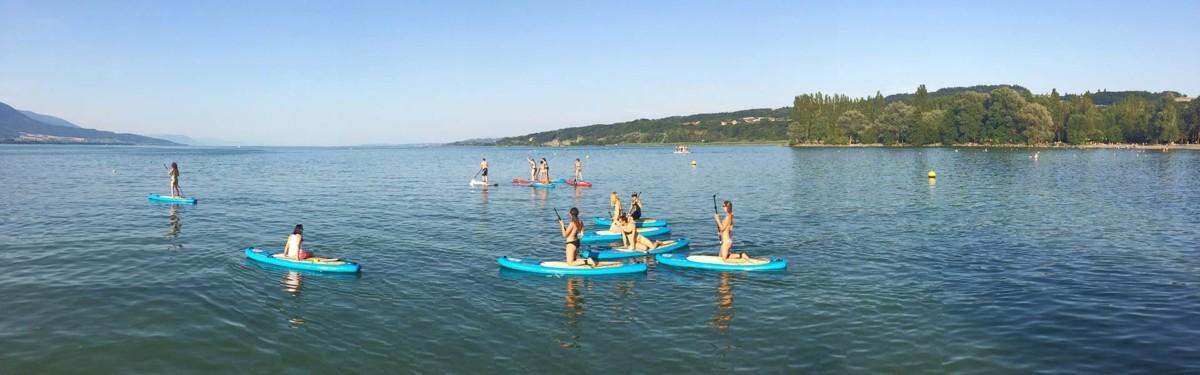 paddle y plage