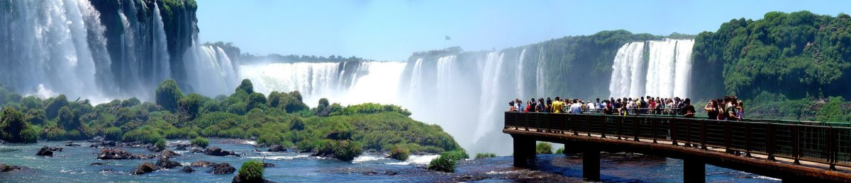 Les chutes d'Iguaçu.